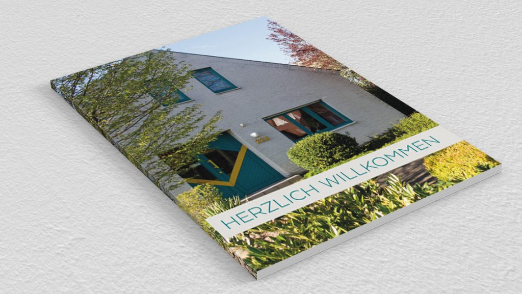 Broschüre der Ferienwohnung Grafschaft