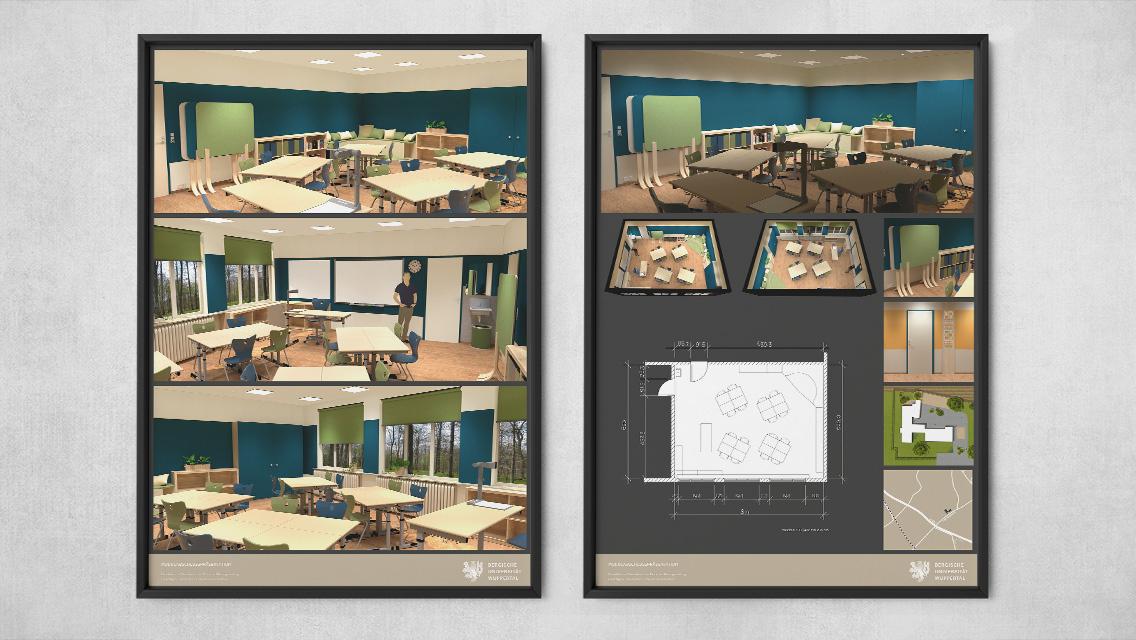 Präsentationstafeln für Klassenraumgestaltung