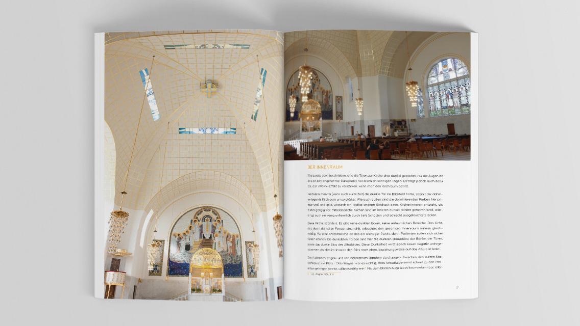 Ausarbeitung Otto Wagner Kirche Innen