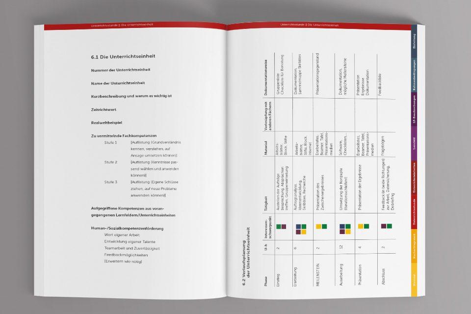 Planungsmappe Unterrichtsgestaltung